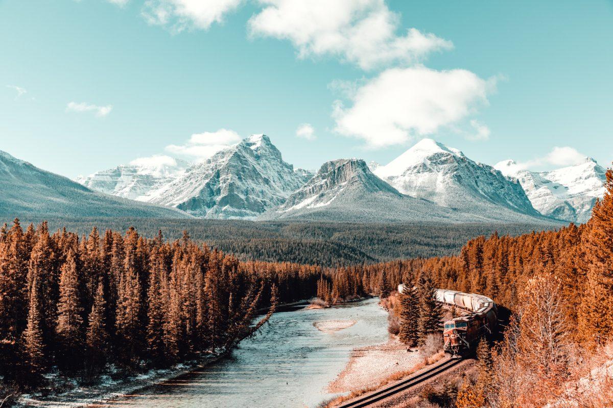 Banff, Train, Canada, Morants