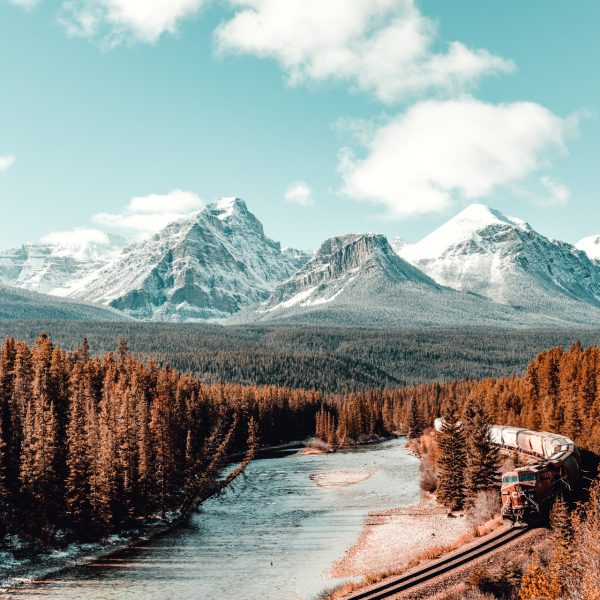 Banff, Train, Canada, Morants
