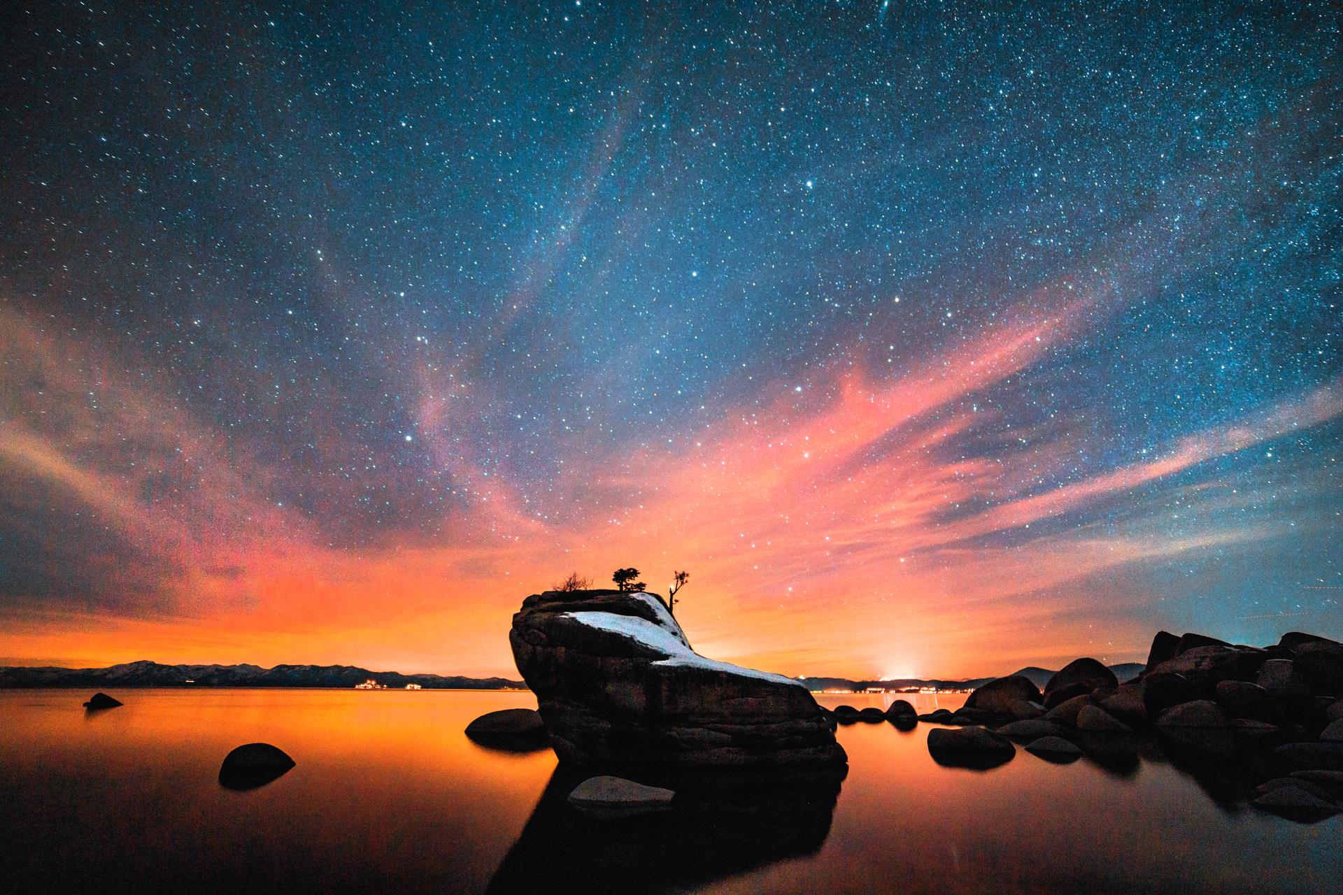 Bonsai Rock Lake Tahoe Ryan Longnecker