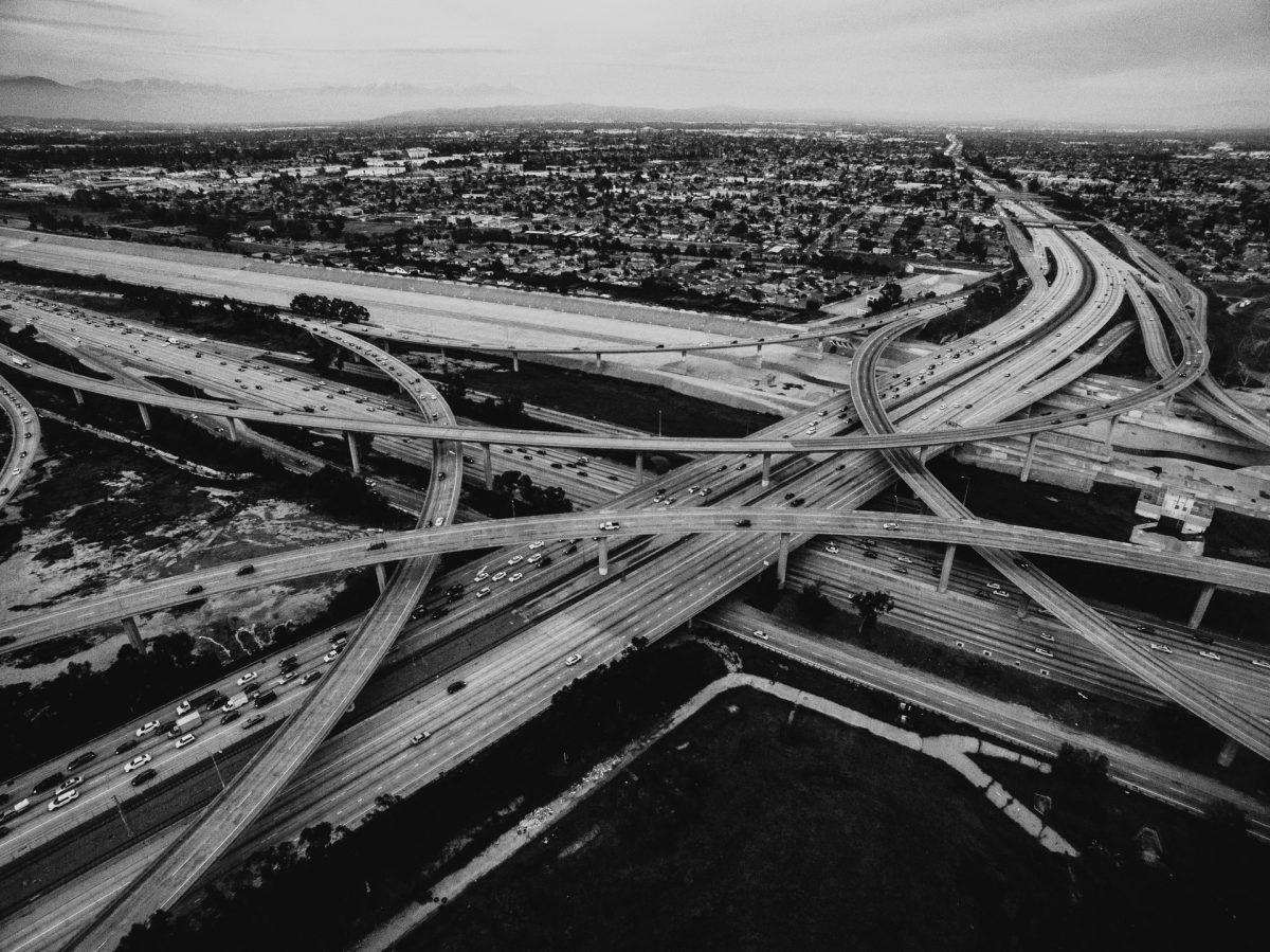 freeway, california, road, longnecker
