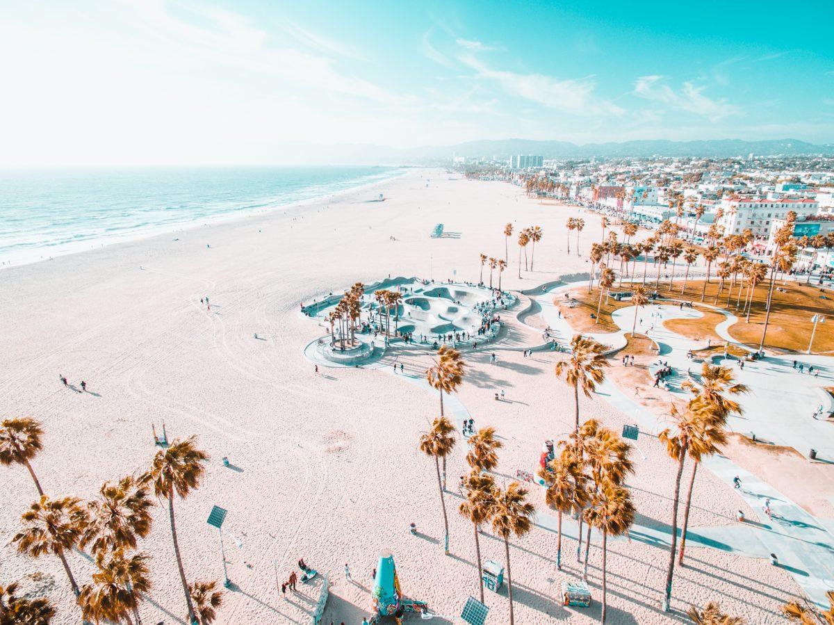 Venice, Skatepark, Skateboard, Beach